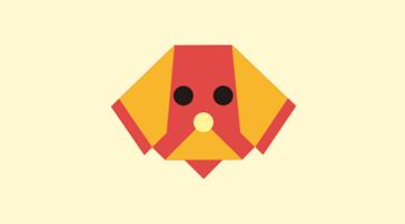 [종이접기교실] 막대 강아지 인형